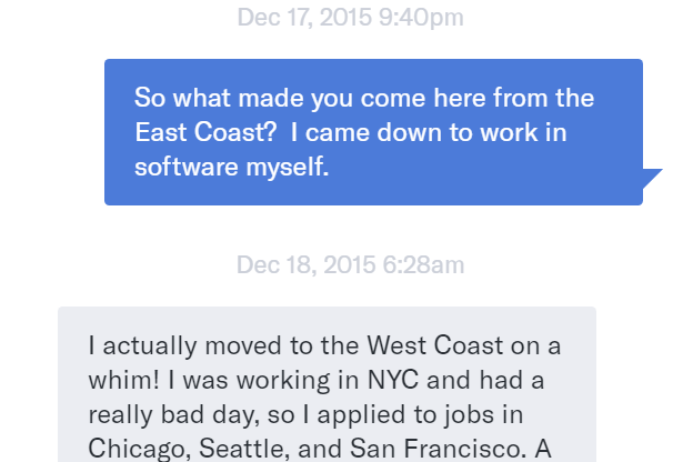 Opening message to a girl online dating